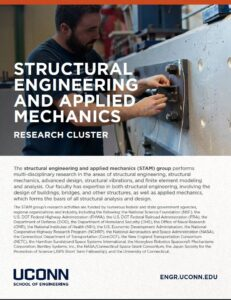 Structural Engineering and Applied Mechanics Research Cluster Brochure Page