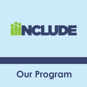 Our Program: the INCLUDE logo
