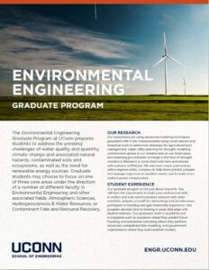 Thumbnail of Environmental Engineering Brochure